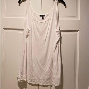 Eileen Fisher white tank top XL